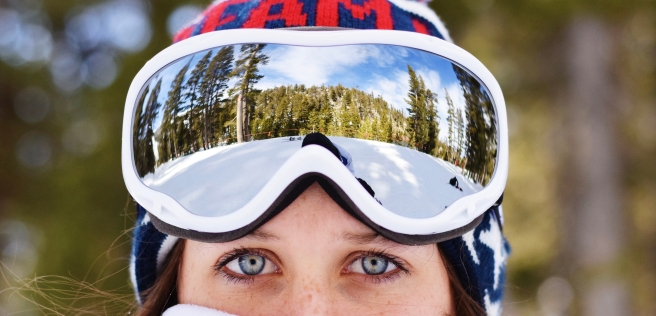 ski tahoe ski trip winter style fun blue eyes blog team usa snowboard