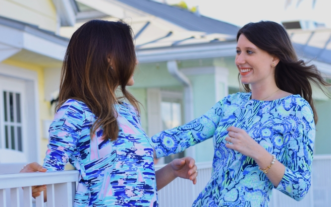 Lilly Pulitzer season dresses bright prints spring fashion blogger tropical nautical style south florida life