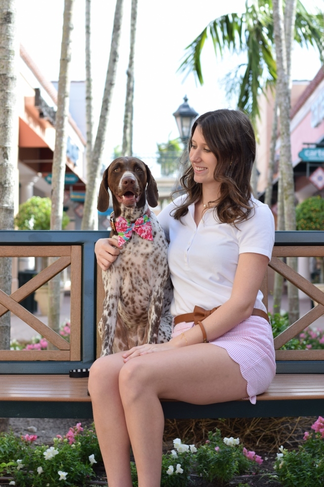 spring fashion lilly pulitzer seersucker shopping tips blogging dog mom life dog friendly places fort meyers